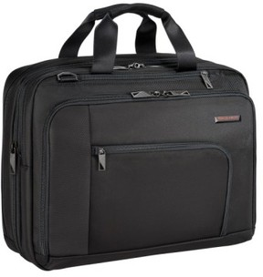 Briggs & Riley 'Verb - Adapt' Expandable Briefcase - Black