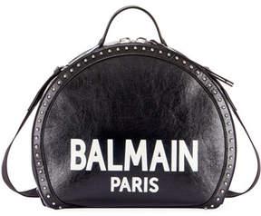 Balmain Drum Brilliant Coin Top Handle Bag