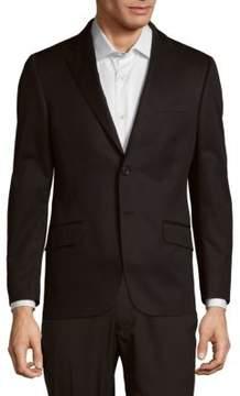 Hickey Freeman Milburn Notch Lapel Cotton Sportcoat