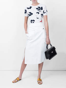 Courreges High rise skirt
