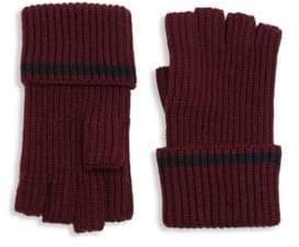 Saks Fifth Avenue MODERN Tipping Fingerless Gloves