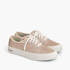 J.Crew SeaVees® for legend sneakers in glitter