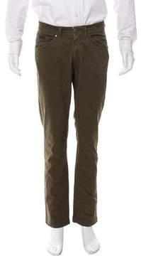 Trussardi Flat Front Cropped Pants
