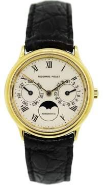 Audemars Piguet Classic Day-Date Moonphase 25589BA 18K Yellow Gold 33mm Unisex Watch