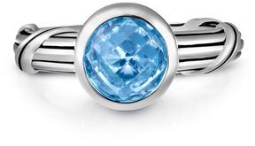 Peter Thomas Roth Fantasies Silver 1.80 Ct. Blue Topaz Ring