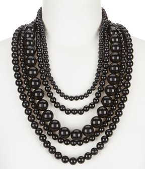 Anna & Ava Amy Beaded Multi-Strand Statement Necklace