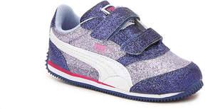 Puma Girls Steeple Glitz Toddler Sneaker