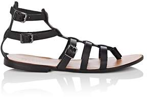 Barneys New York WOMEN'S LEATHER GLADIATOR SANDALS
