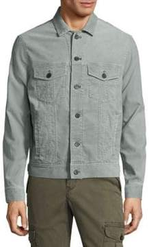Michael Bastian Pigment Dyed Long-Sleeve Jacket