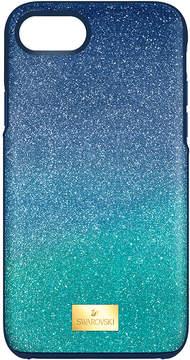 Swarovski High Ombre Smartphone Case with Bumper, iPhone 8, Green