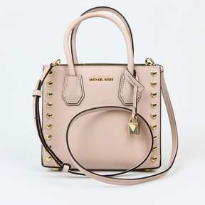 Michael Kors Mercer Medium Soft Pink Messenger - PINK - STYLE