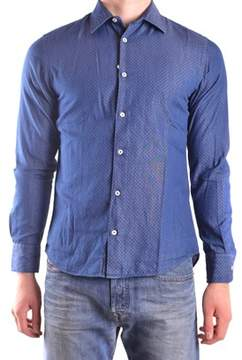 Altea Men's Blue Cotton Shirt.