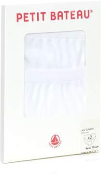 Petit Bateau Plain Cotton Briefs (Set of 2)
