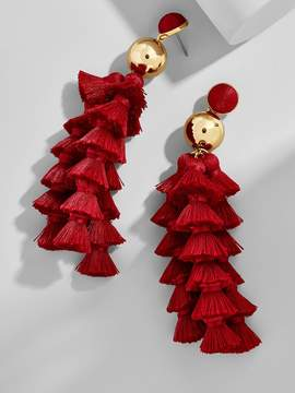 BaubleBar Corsetta Tassel Earrings