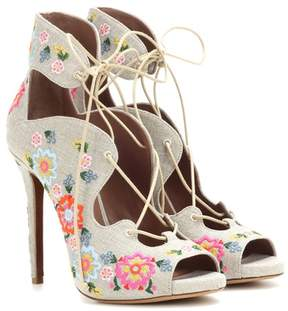 Tabitha Simmons Reed Festival embellished sandals