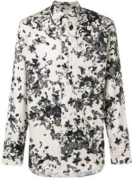 Givenchy floral long-sleeve shirt