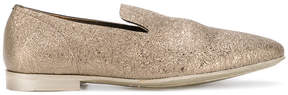 Officine Creative metallic loafer slippers