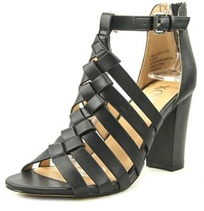 XOXO Baxter Open Toe Leather Sandals.