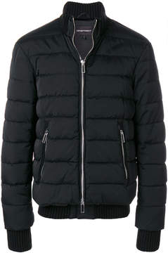 Emporio Armani zip up down jacket