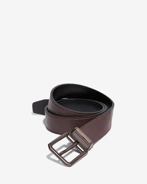 Express Reversible Brushed Copper Prong Buckle Belt