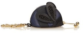 Burberry Pre-owned: Leather Lady Bug Coin Pouch. - BLUE X NAVY X BLACK - STYLE