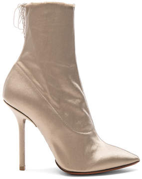 Vetements Satin Ankle Boots