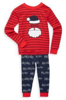 Petit Lem Baby Boy's Two-Piece Stripe Cotton Pajamas Set