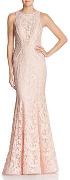 Aqua Lace Mermaid Gown - 100% Exclusive