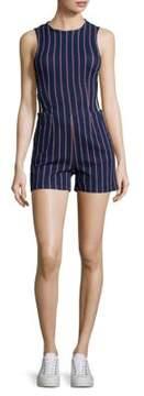 3x1 Tabby Short Striped Romper