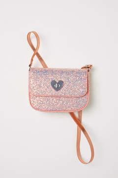 H&M Glittery Shoulder Bag - Orange