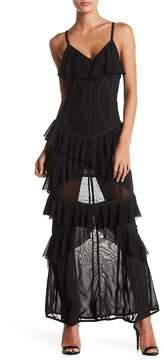 Wow Couture Ruffle Maxi Dress