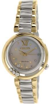 Citizen Women's Eco-Drive EM0326-52D Two-Tone Stainless-Steel Quartz Watch