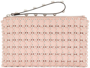 RED Valentino Flower Puzzle clutch