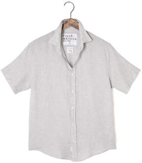 Frank And Eileen Mens Colin Short Sleeve Solid Linen Shirt