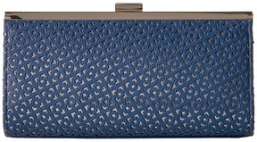 Jessica McClintock - Laura Perforated Framed Clutch Clutch Handbags