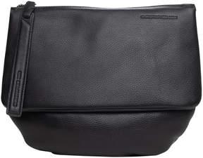 Christopher Kon Black La Dos Leather Crossbody Bag