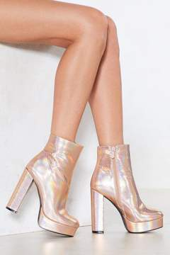 Nasty Gal Come Dancing Platform Boot