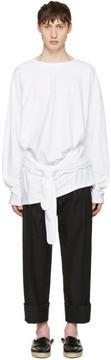 Loewe White Tied Layer T-Shirt