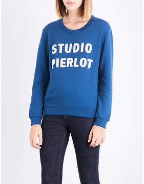 Claudie Pierlot Studio Pierlot cotton-blend sweatshirt