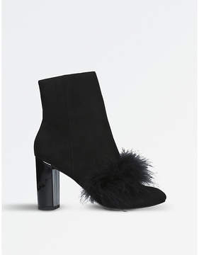 Miss KG Black Classic Sookie Heeled Ankle Boots