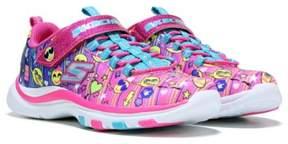 Skechers Kids' Trainer Lite Emoji Happy Dancer Sneaker Preschool