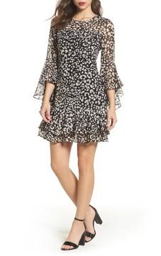 Eliza J Women's Bell Sleeve A-Line Dress