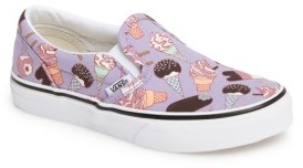Vans Girl's Classic Slip-On