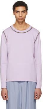 Acne Studios Purple Feman Sweater