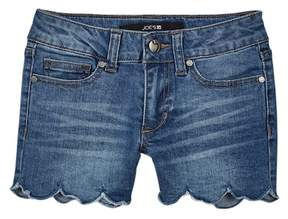 Joe's Jeans Mid Rise Scalloped Shorts (Big Girls)