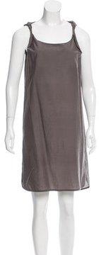 Brunello Cucinelli Sleeveless Twist-Strap Dress