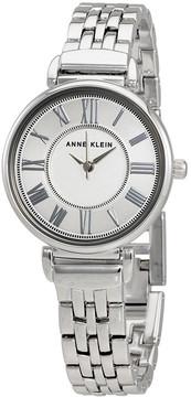 Anne Klein Silver Dial Ladies Stainless Steel Watch