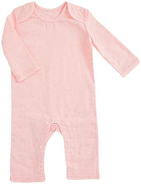 Aden Anais aden + anais - Long Sleeve Coverall Girl's Overalls One Piece