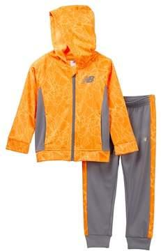 New Balance Hooded Jacket Set (Little Boys)