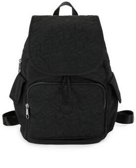 Kipling Ravier Flap Backpack - BLACK - STYLE